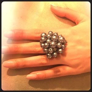 Jewelry - 💥 Faux Pearl Adjustable Ring